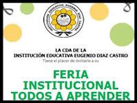 Programa Todos a Aprender presentará experiencias inspiradoras  de los   docentes en la I.E. Eugenio Díaz Castro