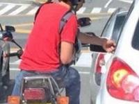 Alerta por   robo en los semáforos de Usaquén