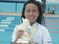 Nadadora soachuna se lució en tierras venezolanas