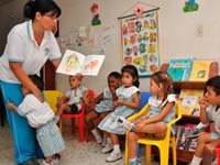 En Hogares comunitarios del ICBF comienza aprendizaje pedagógico de los niños