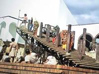 'Un collar de oro por un collar de mitos' inició gira en Guatavita