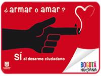 Plan Desarme' de la Bogotá Humana será compartido con la Red de Ciudades del Sur