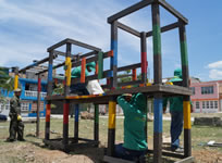 Entregan 'kit ecológico'  en La Mesa