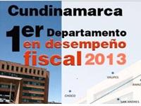 Cundinamarca primer departamento en desempeño fiscal integral del país