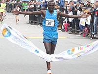Un keniata y una peruana ganaron la XXIII Carrera Atlética Internacional Soacha 12 k