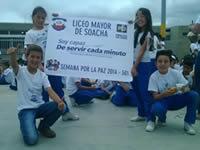 Liceo Mayor de Soacha construye paz