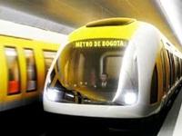 Listo proyecto metro para Bogotá