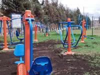 Se instaló de nuevo parque intergeneracional de Tibanica