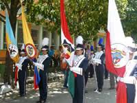 Banda marcial del Integrado de Soacha reclama equidad en la distribución de recursos