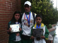 Chía campeón nacional en atletismo infantil