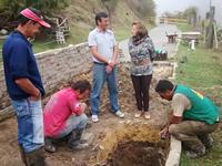Habitantes de El Charquito dan ejemplo de trabajo y promueven el sentido de pertenencia