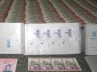 Desmantelada fábrica falsificadora de billetes