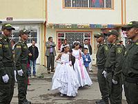 Gestión comunal permitió  a niños de la Fragua hacer  su primera comunión