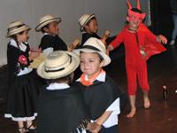 La danza se toma la I.E. Ciudadela Sucre