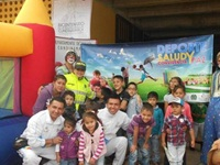 Matrogimnasia  conquista niños de  Cundinamarca