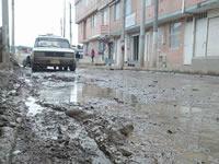 Falta de sumideros ocasiona inundaciones en Nuevo Colón y Quintanares