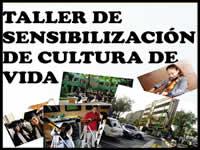 Taller de sensibilización de cultura de vida en Fusa