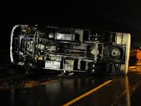 22 heridos deja volcamiento de bus en Soacha
