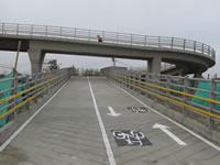 Por fin se puso al servicio  el puente peatonal de San Mateo en Soacha