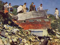 Víctimas de explosión de Avión que cayó en Soacha instaurarán demanda ante CIDH