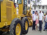 San Bernardo, Arbeláez y Tibacuy reciben obras y maquinaria