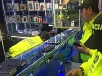 Golpe al tráfico de celulares robados en Bosa