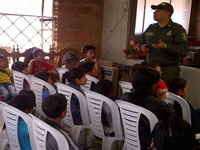 Jóvenes de comuna cuatro integran grupo juvenil cívico