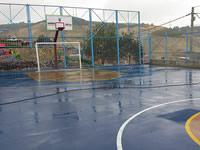 Julio Rincón y San Rafael ya cuentan  con modernos escenarios deportivos