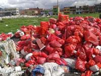 Abren investigación por botadero clandestino de basura