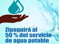 Daños en acueducto de Zipaquirá disminuyen servicio de agua