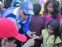 Se  firma pacto de convivencia con la barra futbolera de Millonarios en Soacha