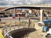 El niño Dios le trajo un puente peatonal a Soacha