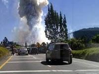 Un herido dejó explosión en polvorería de Granada
