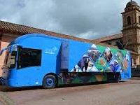 Aula móvil de la CAR visita a Soacha