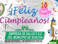 ESE municipal de Soacha  está de cumpleaños