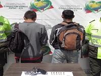 Capturados presuntos atracadores en el Salto del Tequendama