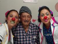 Dra Clown visitó el hospital Mario Gaitán Yanguas de Soacha