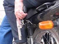Las motos de los delincuentes que rondan los barrios de Soacha