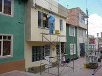 Con recursos privados se han pintado  las fachadas de 830  casas de Soacha