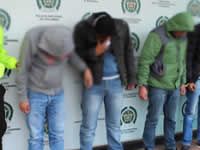 Desmantelada banda que atracó estación de gasolina en Soacha