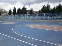 IMRDS repara cancha Tibanica y supervisa estado de los escenarios deportivos de Soacha