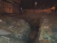 Aguas negras bordean el barrio La Esperanza