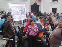 Carreteros protestan en Soacha