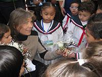 Primera dama de la nación  inaugura CDI en Ciudad Verde