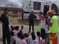 Policía de Soacha continúa acompañando a niños y jóvenes