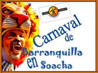 El domingo el Carnaval de Barranquilla se traslada a Soacha
