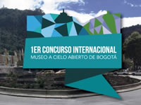 Primer Concurso Internacional Museo a Cielo Abierto Ciudad de Bogotá
