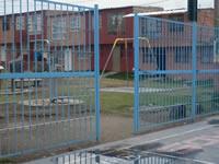 En Soacha se están robando las puertas de los polideportivos