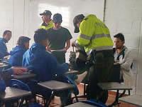 Continúan operativos en colegios de Soacha
