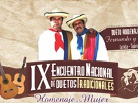 IX Encuentro Nacional de Duetos Tradicionales «Homenaje a la Mujer»